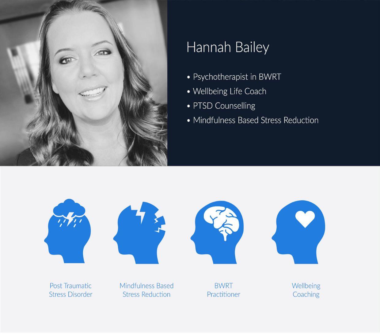 Hannah Bailey, wellbeing coach
